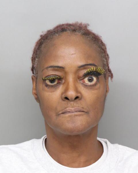Yellow Lash Lady Mug Shot The Smoking Gun