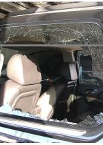 Tiger Woods Crash Photos