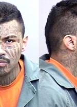 Arrested for domestic violence, violating parole.