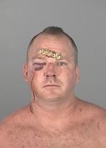 Arrested for battery on law enforcement, resisting arrest with violence.