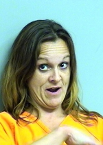 Arrested for outraging public decency, public intoxication.