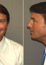 John Edwards, former U.S. Senator and Democratic vice presidential candidate, po