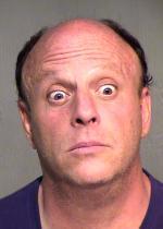 Arrested for assault.