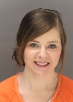 Arrested for violation of a no contact order.