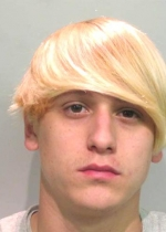 Arrested for pot possession.