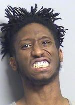 Arrested for false impersonation, resisting arrest.