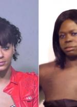 Both arrested for prostitution.