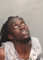 Arrested for trespassing, providing a false name after arrest.