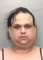 Arrested for grand theft, identity fraud.