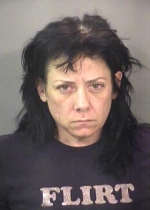 Arrested for terroristic threats, corporal injury to a spouse.
