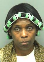 Arrested for motor vehicle rental fraud.