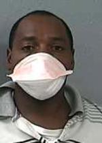 Arrested for violating parole.