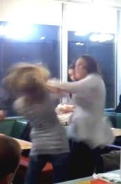 Denny's Fight