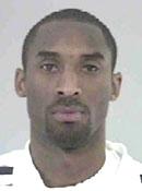 Kobe Bryant mug shot