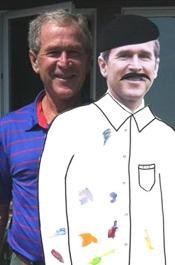 George W. Bush, artist