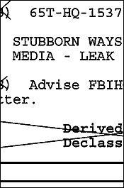 Stubborn Ways