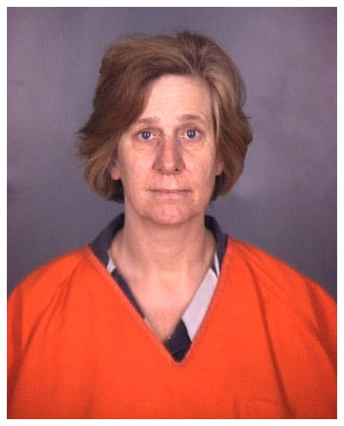 Cindy Sheehan mug shot