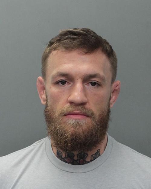 Conor McGregor mugshot