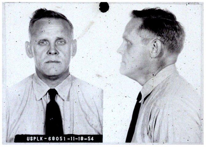 Gus Hall MUG SHOT | The Smoking Gun