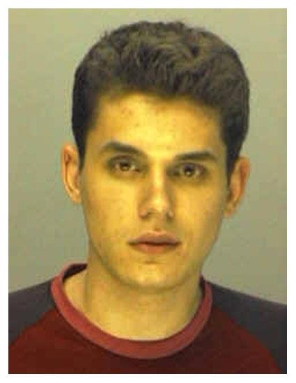 John Mayer mug shot