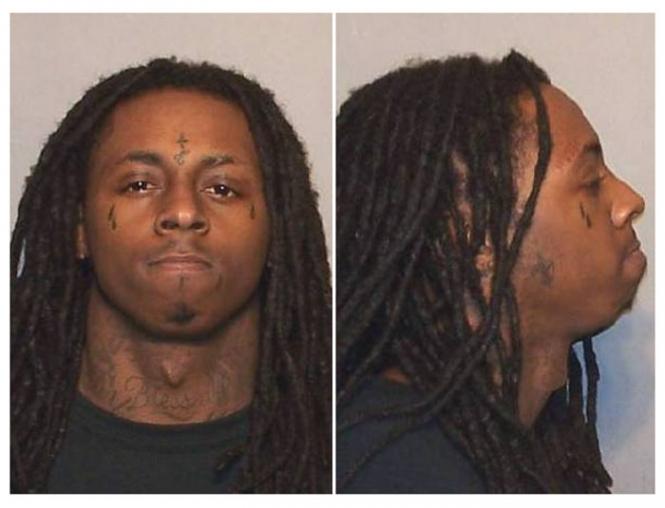 Lil Wayne mug shot