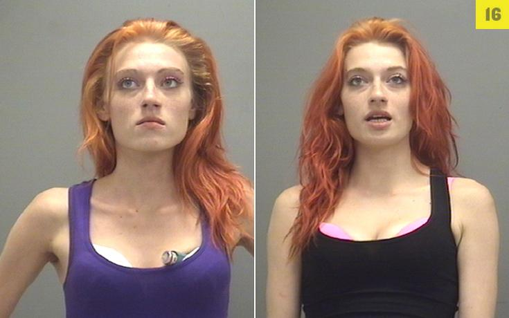 Both sisters arrested for aiding and abetting prostitution.