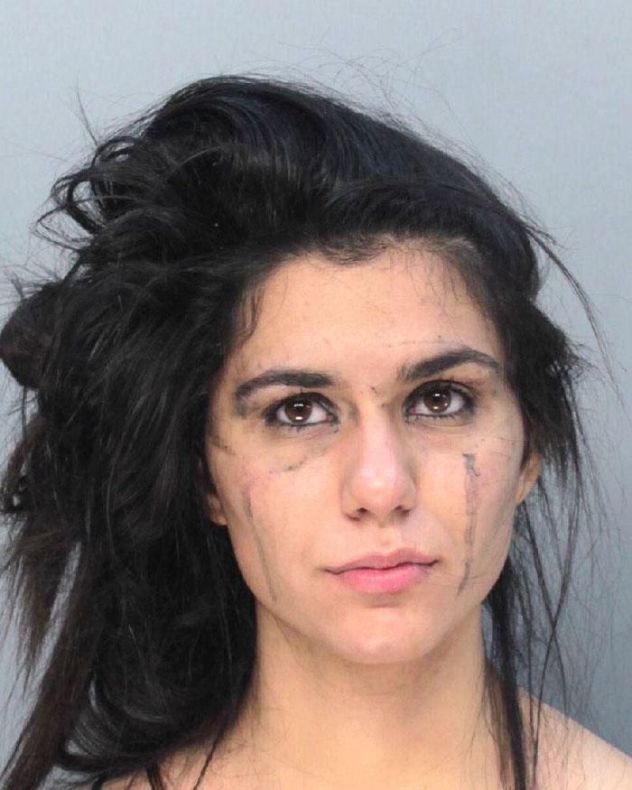 Arrested for trespassing.
