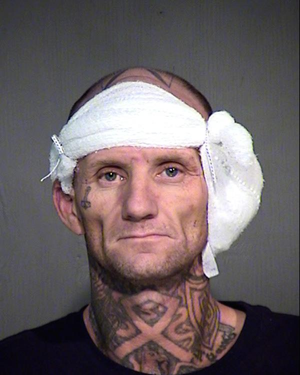 Arrested for failing to register as a sex offender.