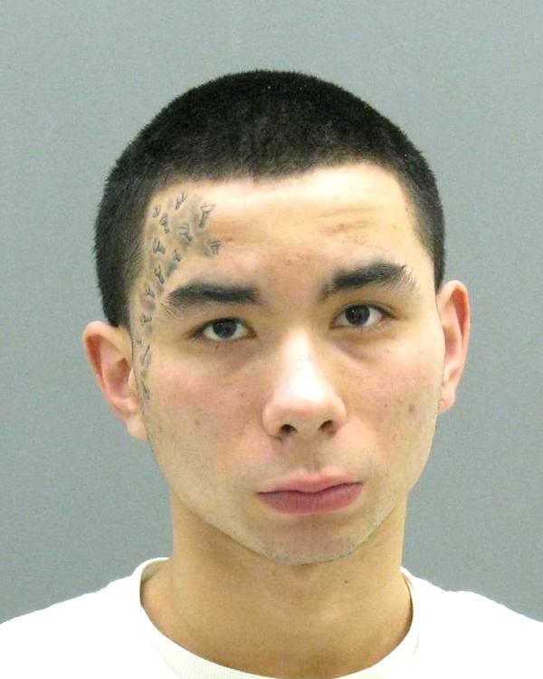 Jailed awaiting arraignment.