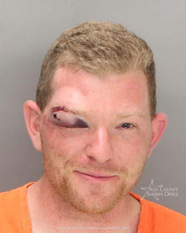 Arrested for resisting officers, being under the influence.