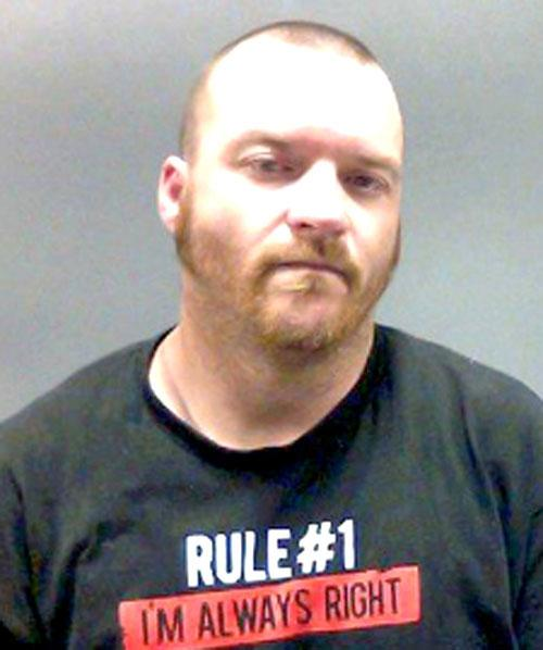 Arrested for manufacture/delivery of methamphetamine.