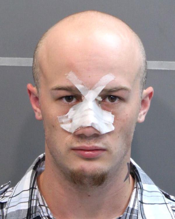 Arrested for criminal impersonation, evading arrest.
