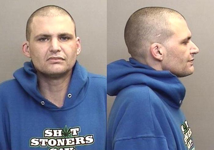 Arrested for pot for sale, possession of a controlled substance.