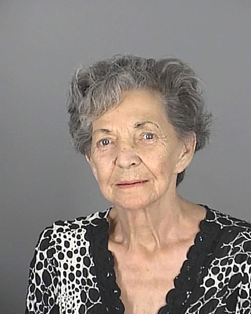 Arrested for domestic battery.