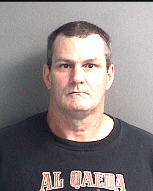 Arrested for burglary, larceny, and damage to property.