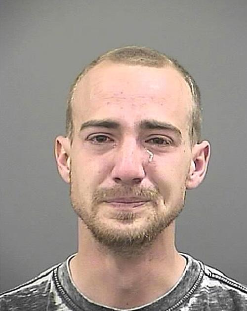 Arrested for indecent exposure.