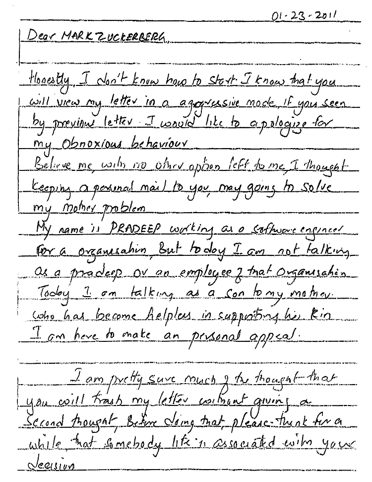 Mark zuckerberg ipo letter