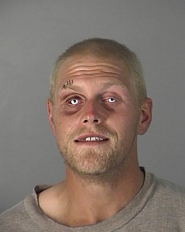 Arrested for retail theft, resisting a merchant.