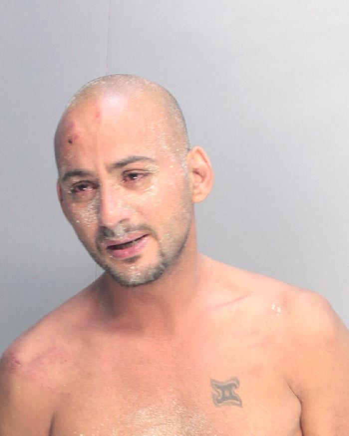 Arrested for assault, disorderly intoxication.