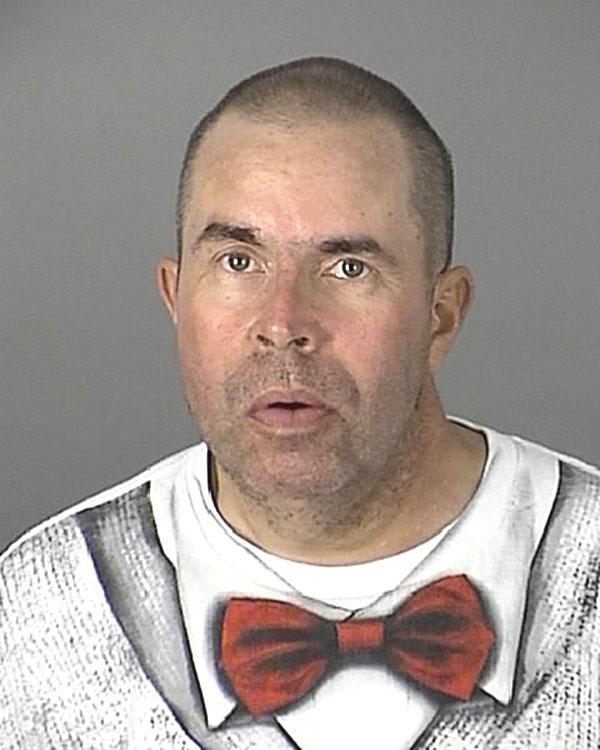 Arrested for DUI, damage to property.
