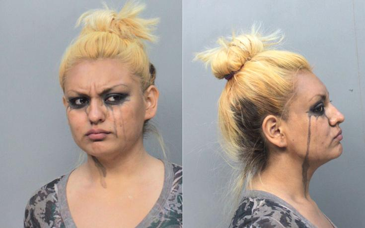 Arrested for disorderly conduct.
