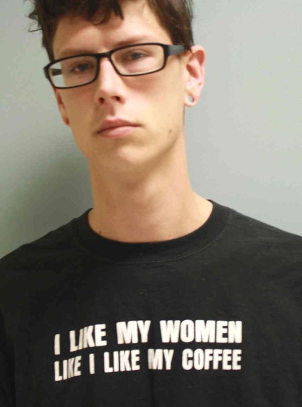 Arrested on a domestic relations bench warrant.