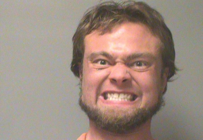 Arrested for reckless driving, eluding police.