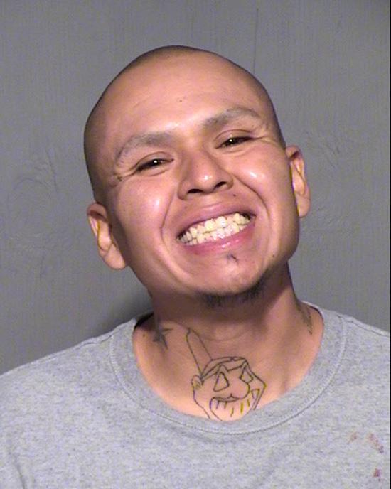 Arrested for assault, violating probation.