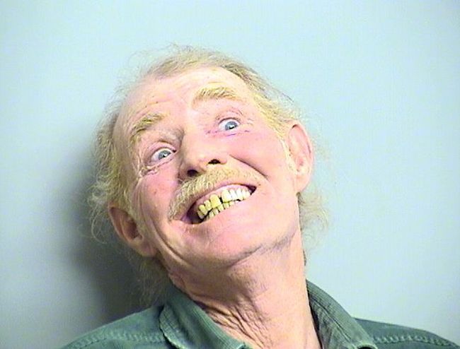 Arrested for disturbing the peace while intoxicated.