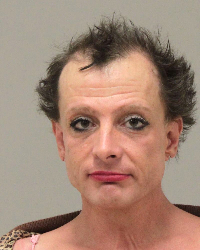 Arrested for prostitution--accosting and soliciting.