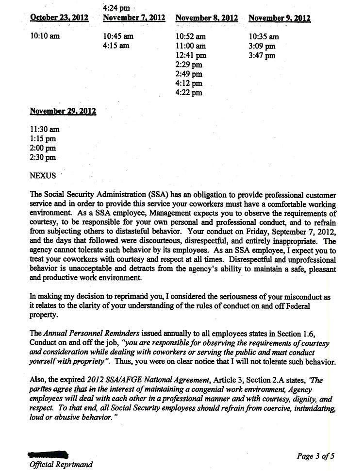 formal complaint letter format sample