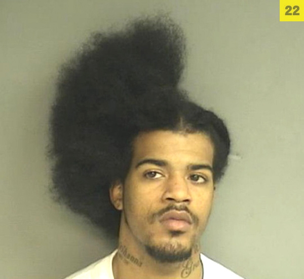 """Connecticut resident David Davis, 20, was left with a """"halfro"""" in March after al"""