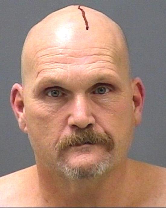 Arrested for burglary, larceny.