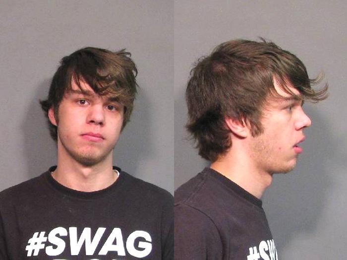 Arrested for resisting an officer.